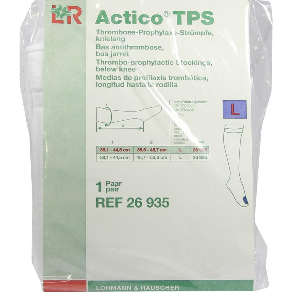 07549232, Actico TPS knielang Gr.L normal paarweise, 2 ST