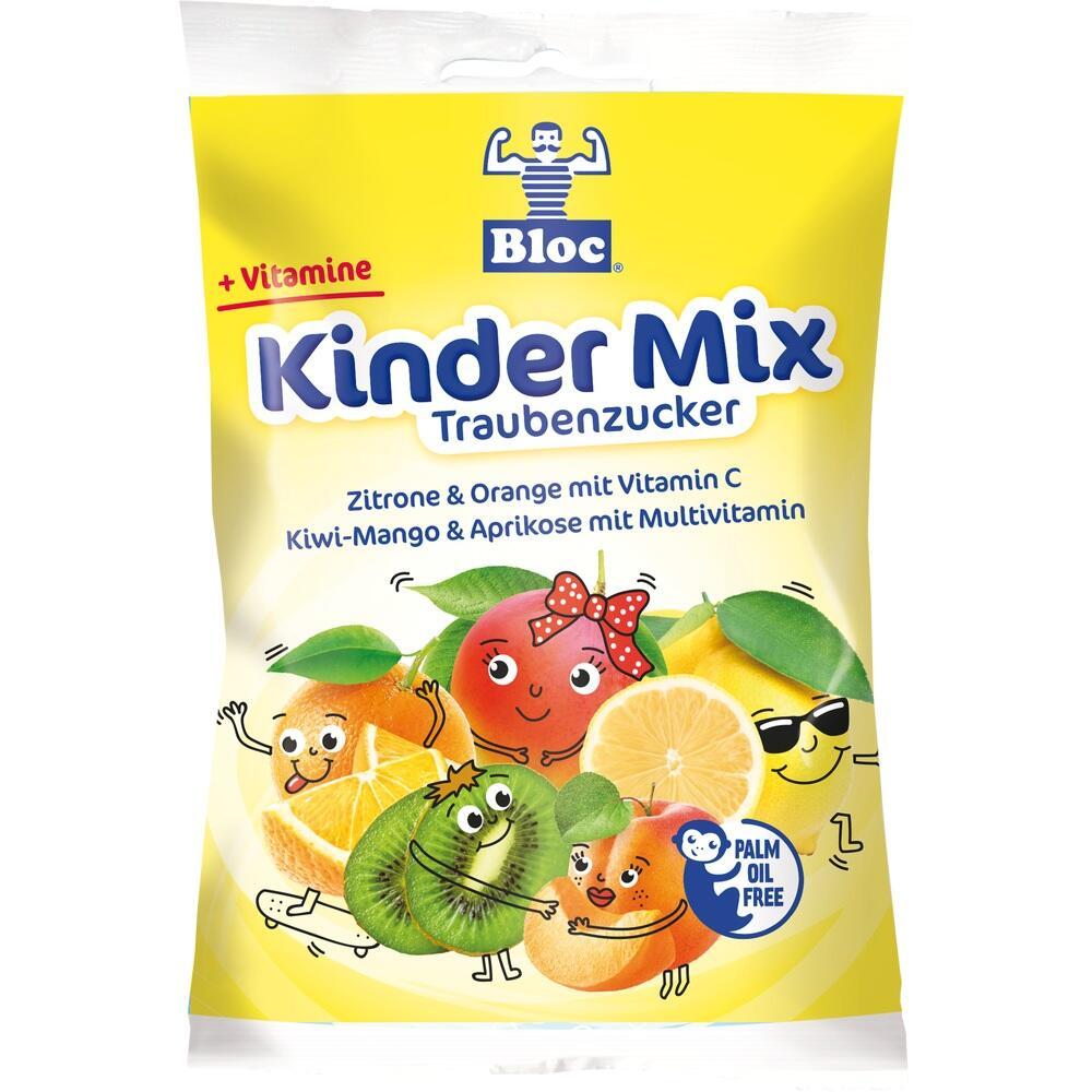 07555669, Bloc Kindertraub Zucker versch Geschmacksricht BTL, 75 G