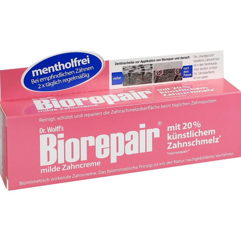 07567342, Biorepair Zahncreme mild, 75 ML