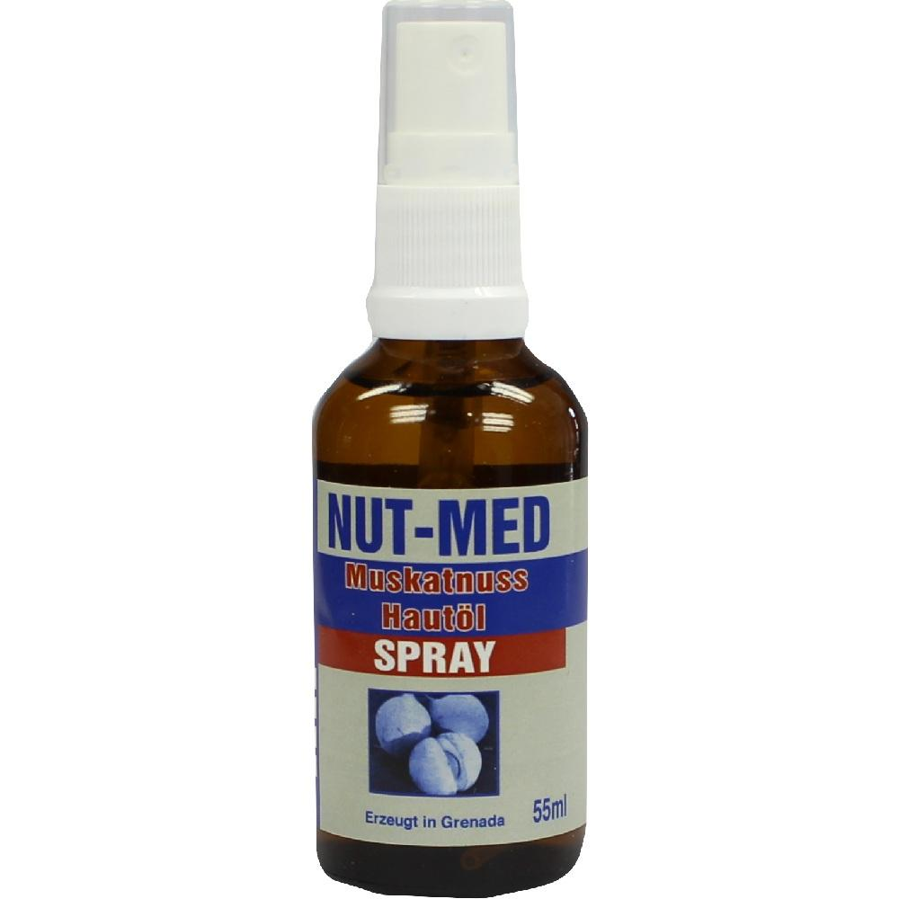 NUT Med Muskatnuss Hautöl Spray