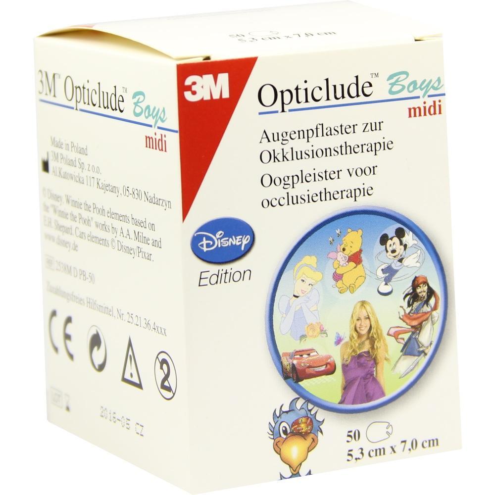 07587971, Opticlude 3M Disney Boys midi, 50 ST