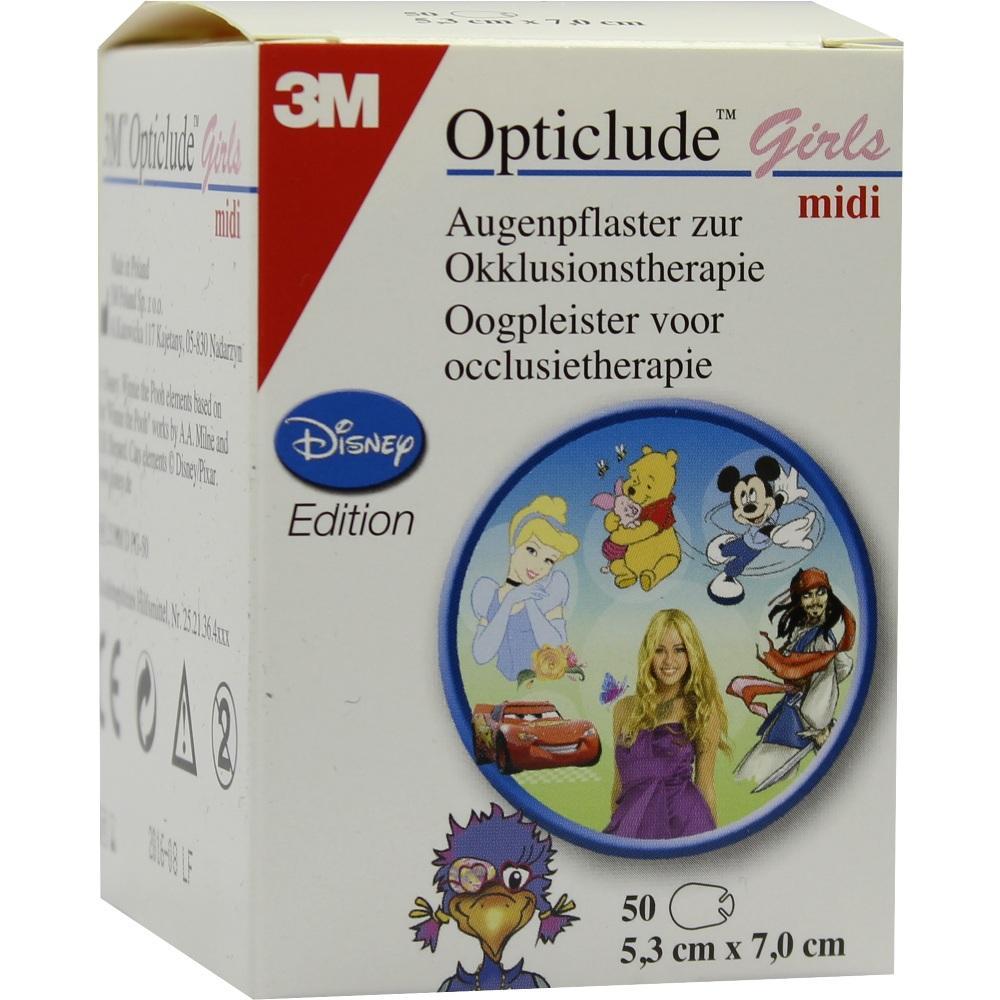 07587988, Opticlude 3M Disney Girls midi, 50 ST
