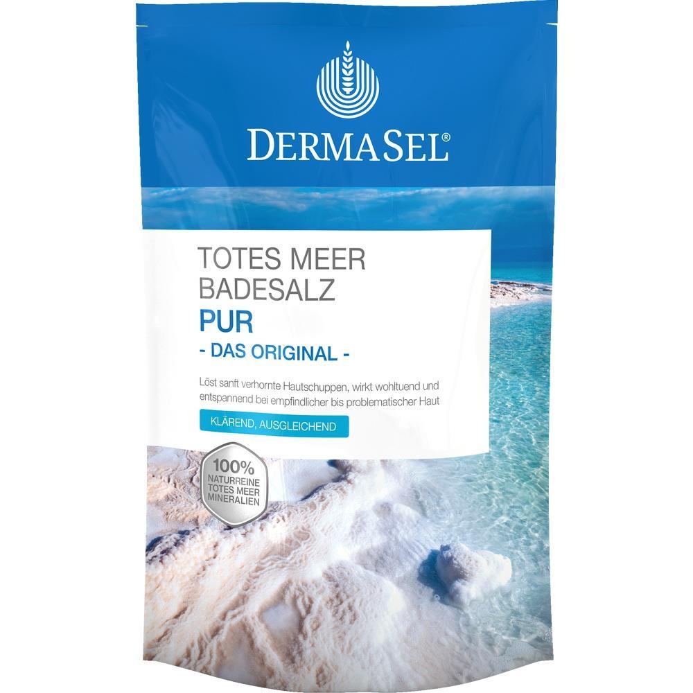 07588019, DermaSel Totes Meer Badesalz Pur, 500 G