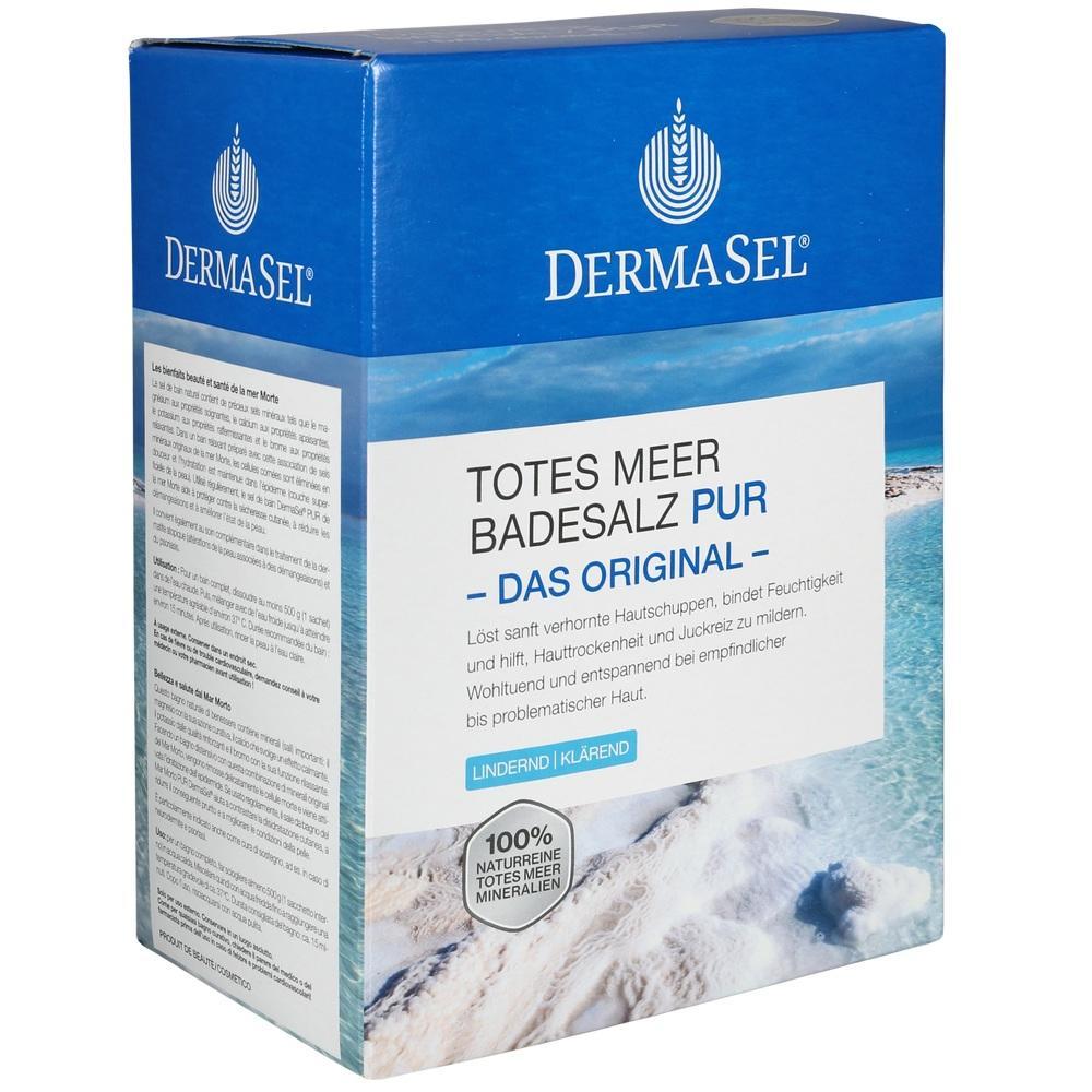 07588031, DermaSel Totes Meer Badesalz Pur, 1.5 KG