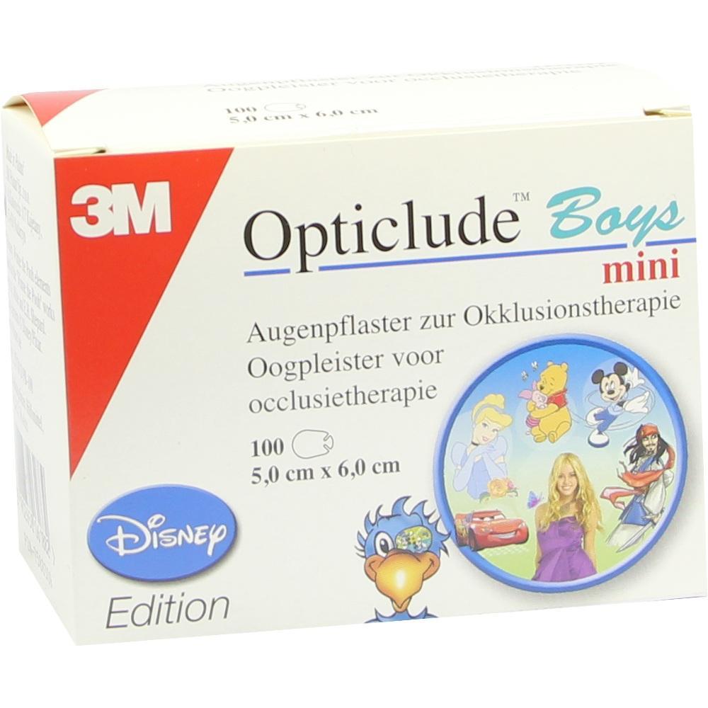 07588309, Opticlude 3M Disney Boys mini, 100 ST