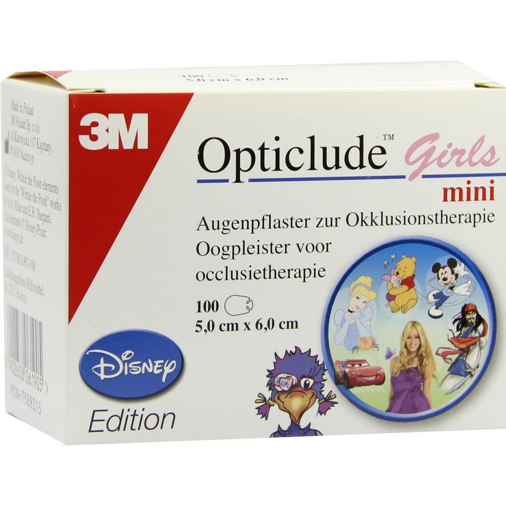 07588315, Opticlude 3M Disney Girls mini, 100 ST