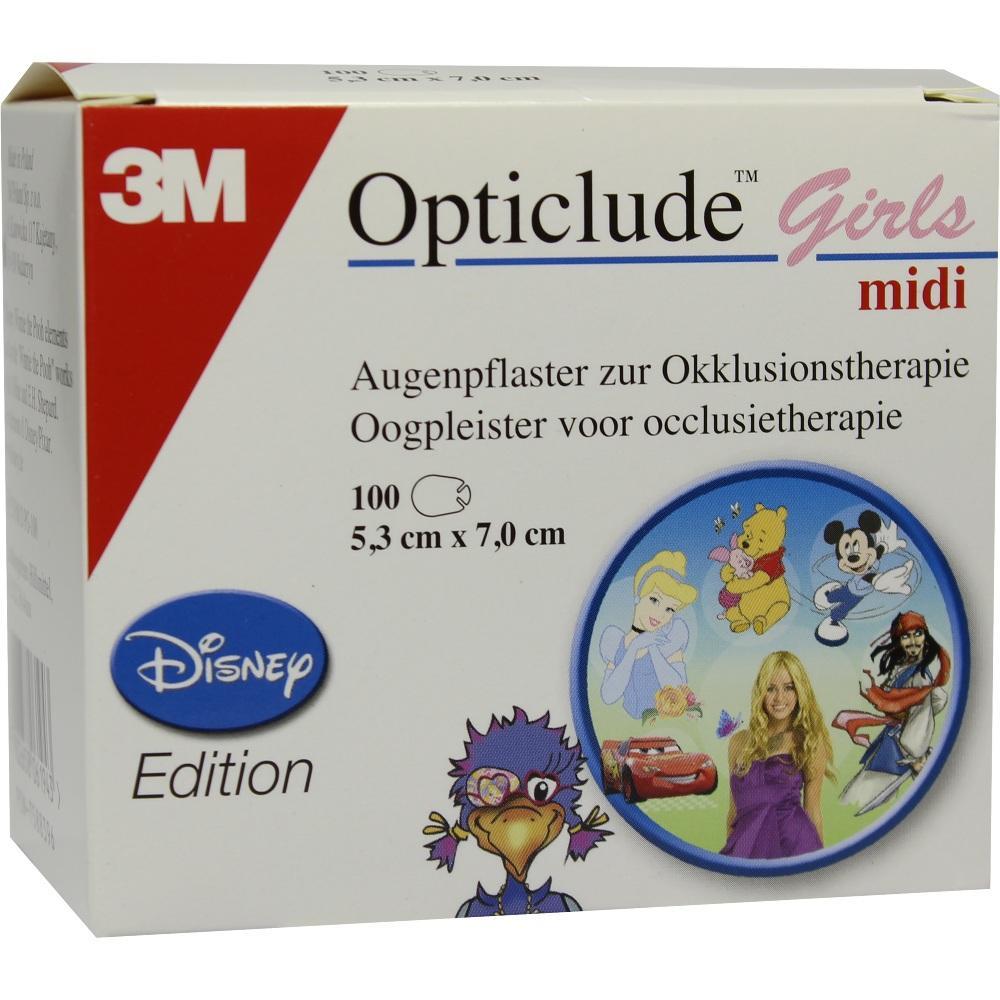07588396, Opticlude 3M Disney Girls midi, 100 ST