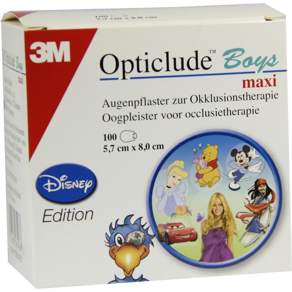 07588427, Opticlude 3M Disney Boys maxi, 100 ST