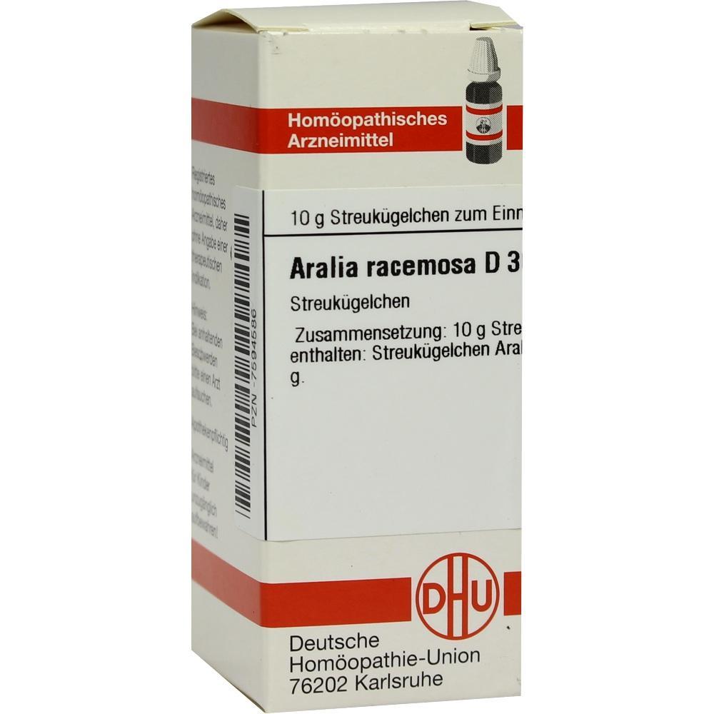 ARALIA RACEMOSA D 30 Globuli