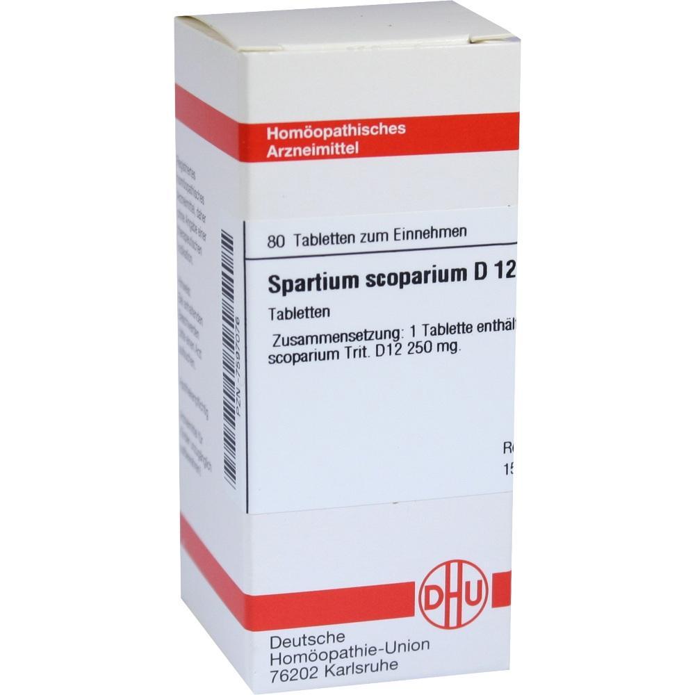 SPARTIUM SCOPARIUM D 12 Tabletten