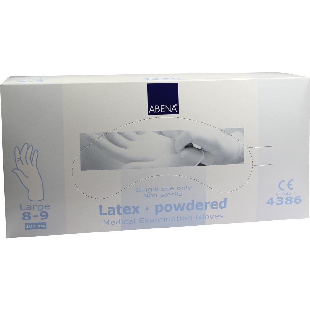 07610026, Latex-Handschuhe Large 4386, 100 ST