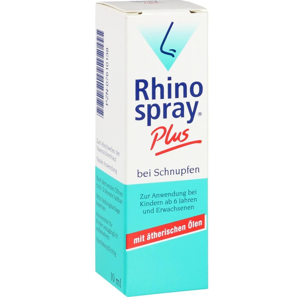 07610138, Rhinospray plus bei Schnupfen mit Feindosierer, 10 ML