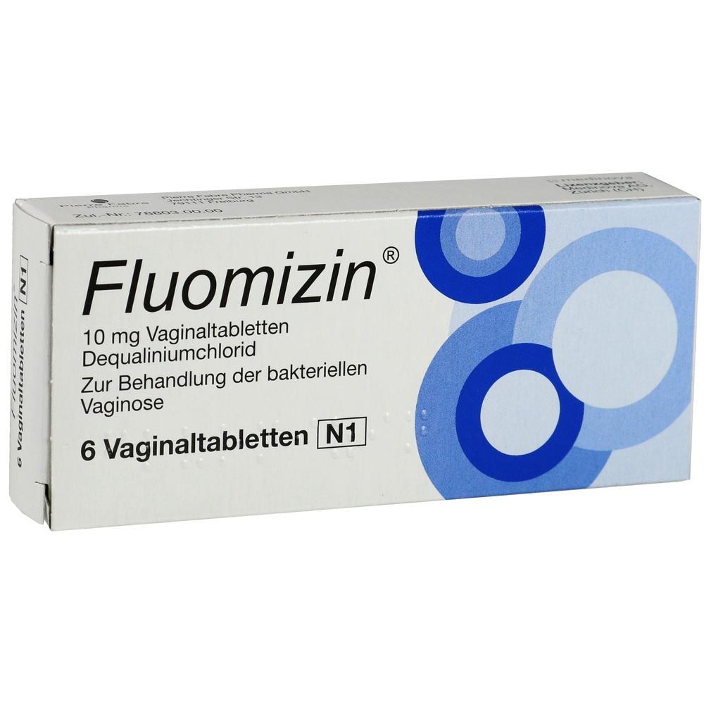 07618192, Fluomizin 10mg Vaginaltabletten, 6 ST
