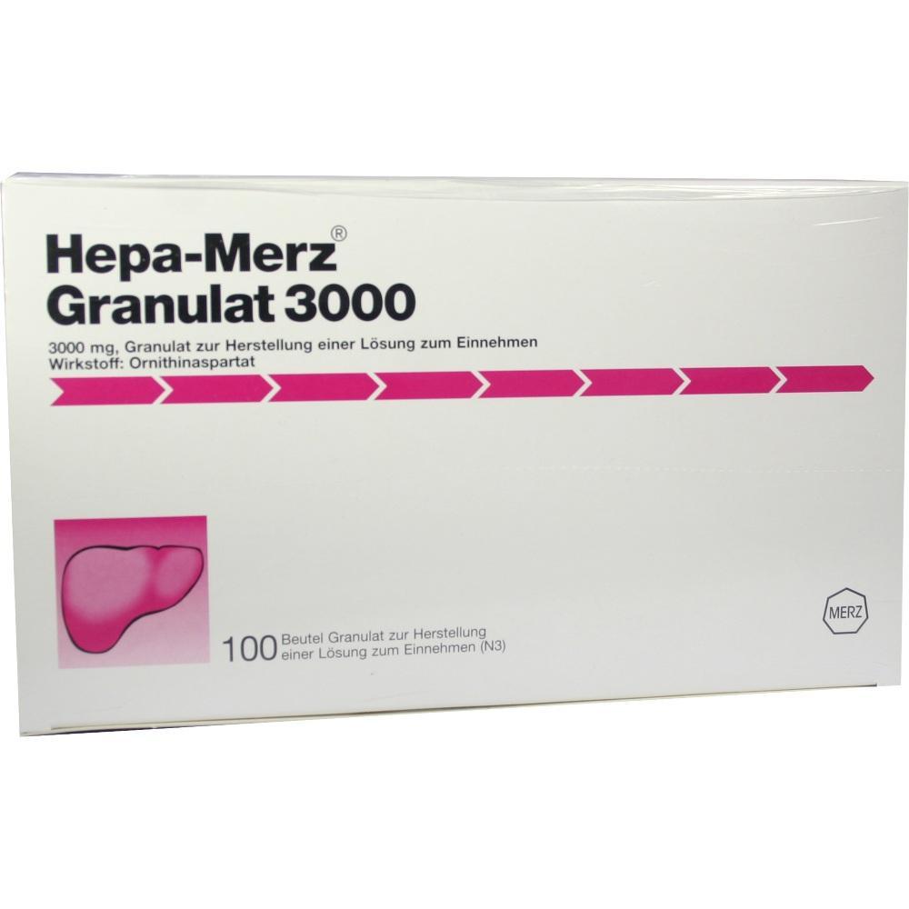 07620639, HEPA MERZ GRANULAT 3000, 100 ST