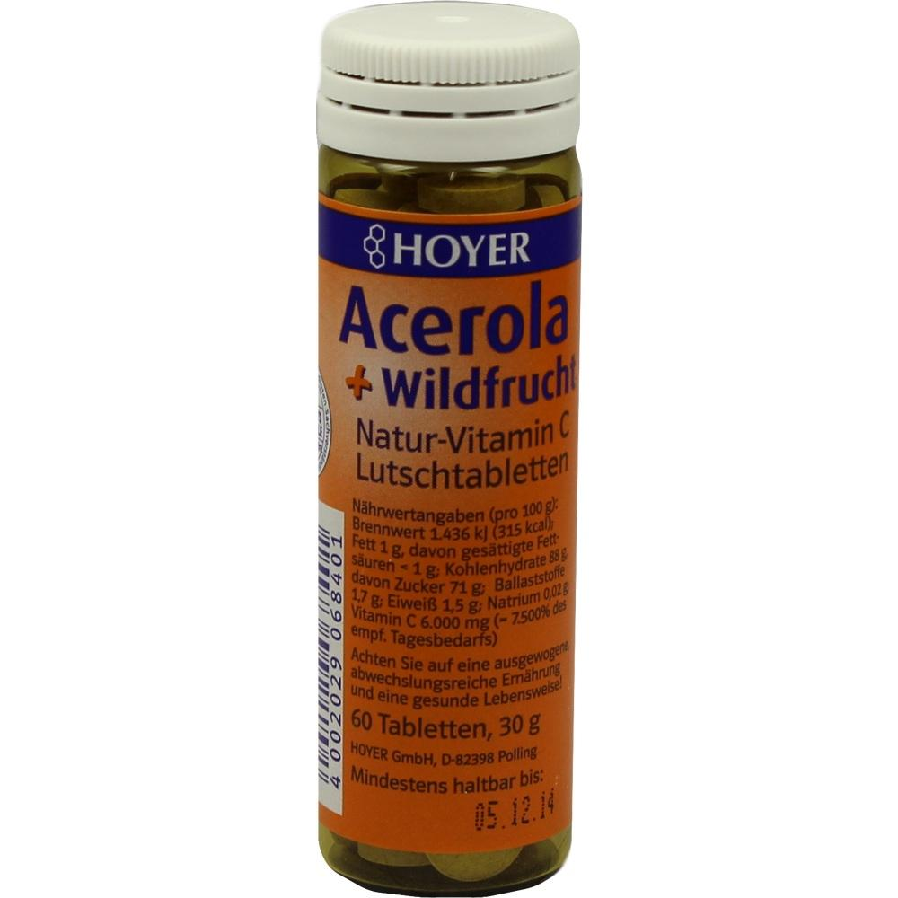 ACEROLA U WILDFRUCHT VIT C