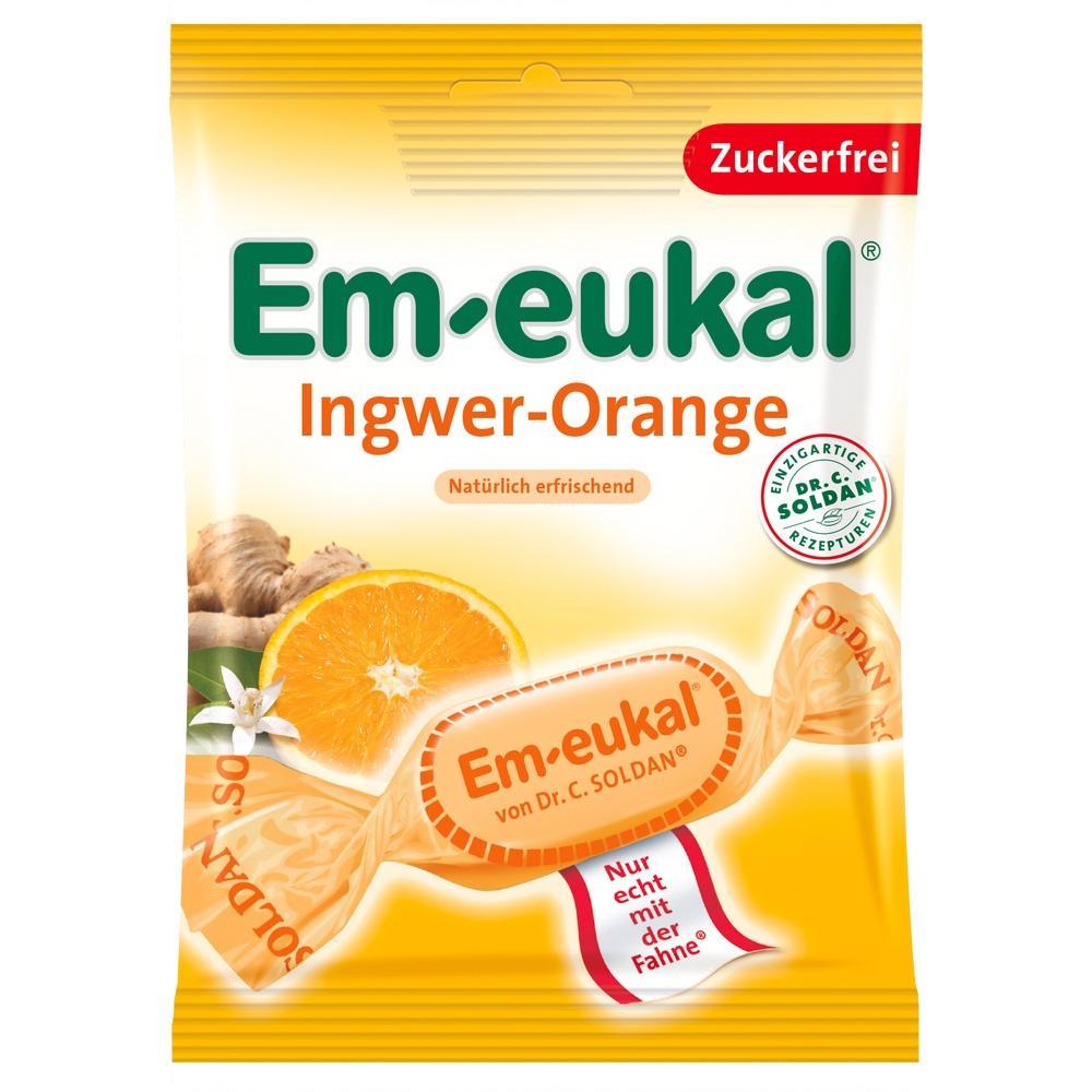 07630170, Em-eukal Ingwer Orange zfr, 75 G