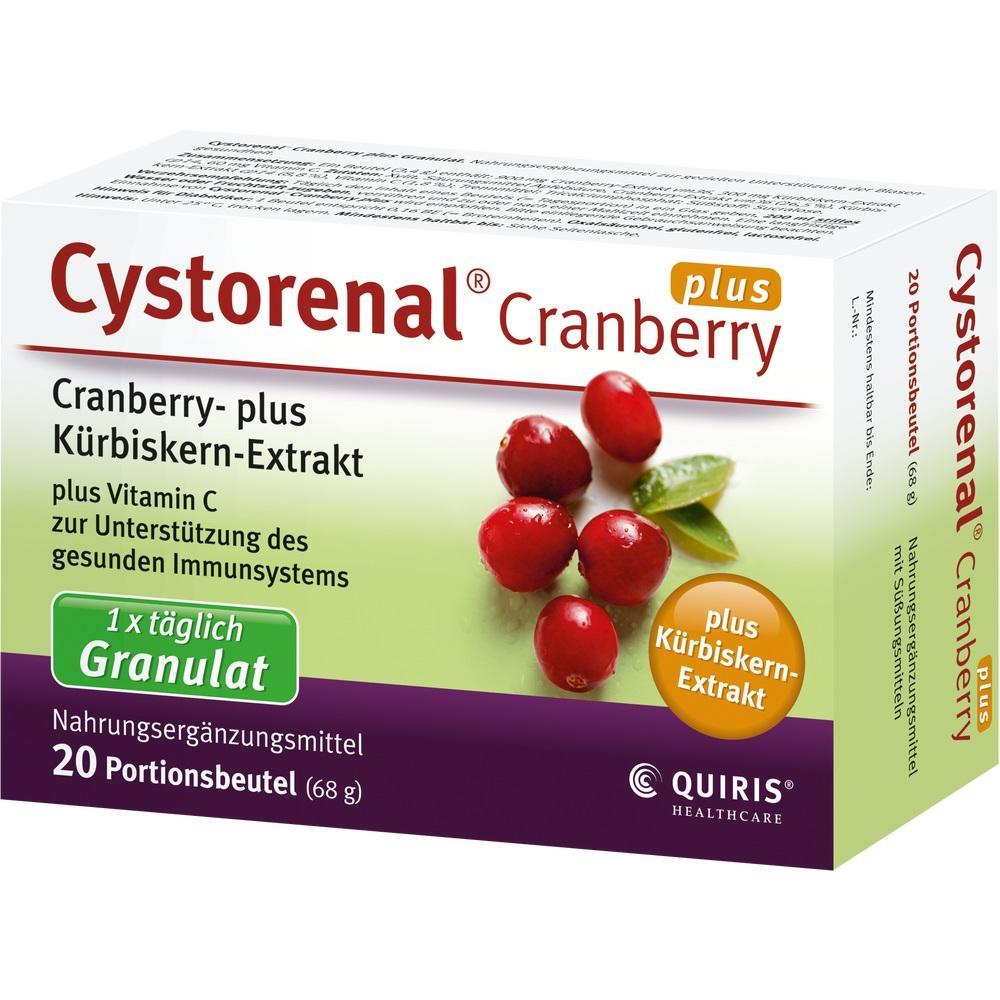 07635730, Cystorenal Cranberry plus, 20 ST