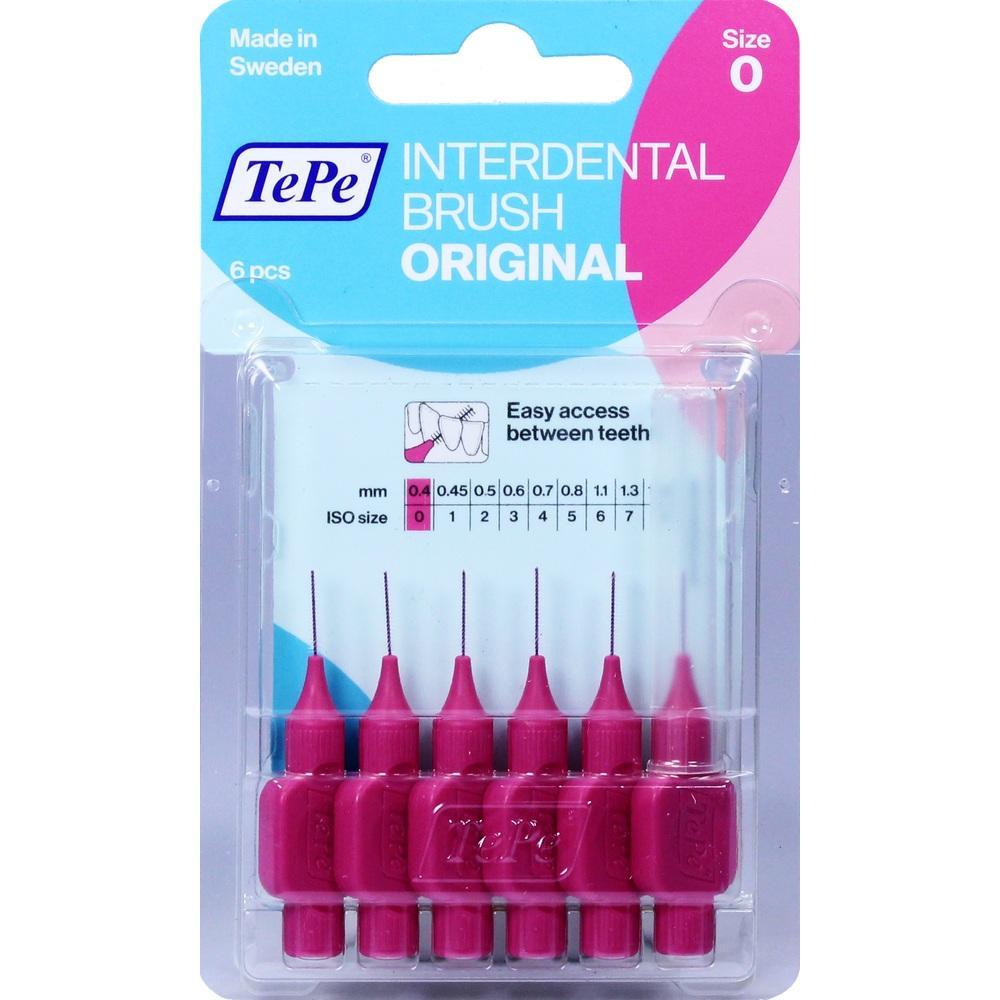 07641185, TePe ID Bürste Pink 0.4mm, 6 ST