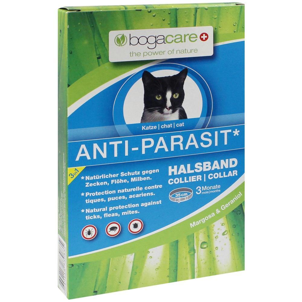 07644999, bogacare ANTI-PARASIT Halsband Katze, 1 ST