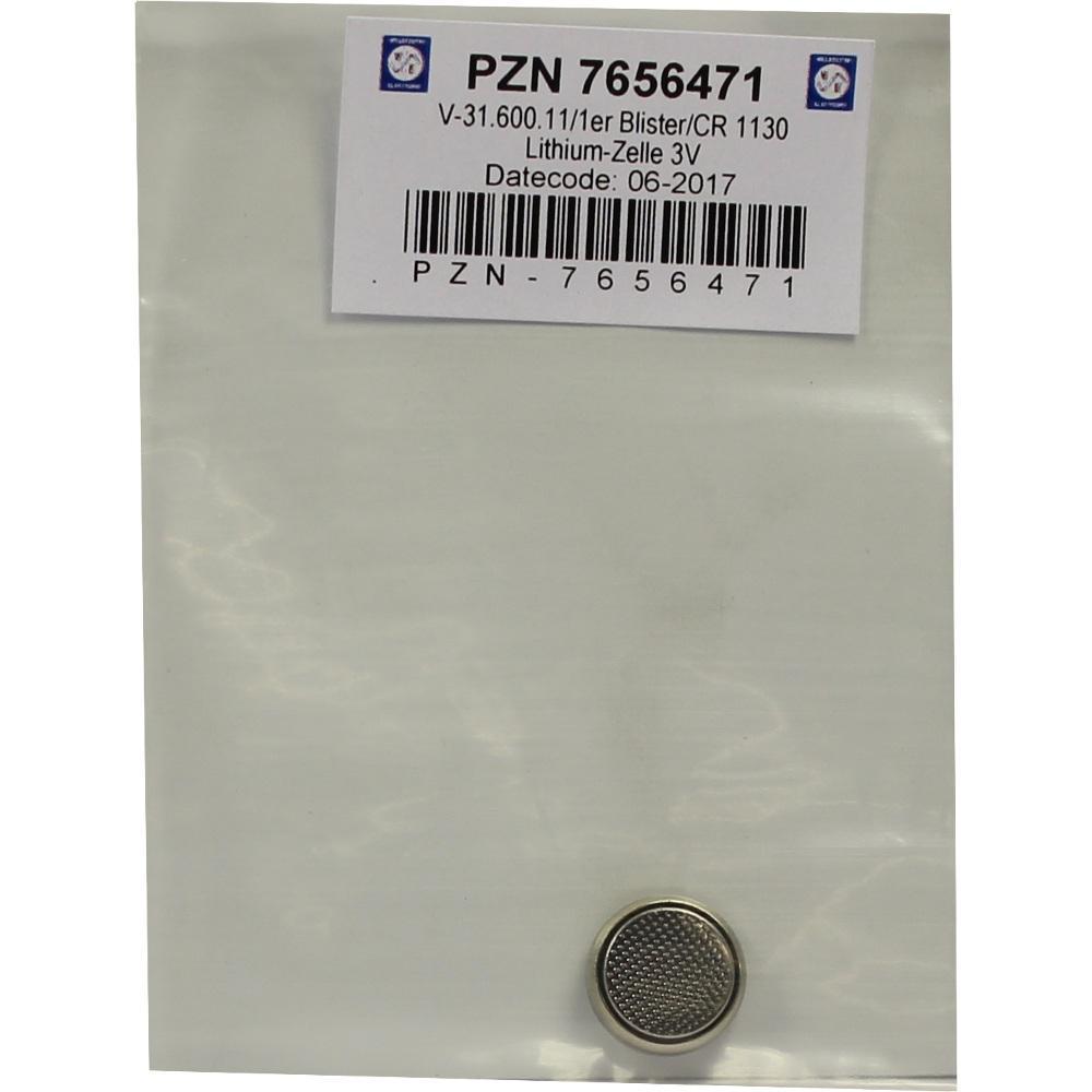 07656471, Batterie Lithium 3V CR 1130, 1 ST