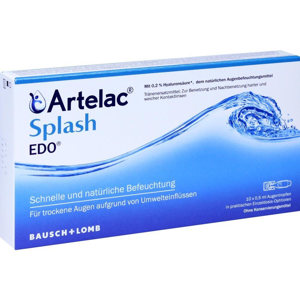 07706996, Artelac Splash EDO, 10X0.5 ML