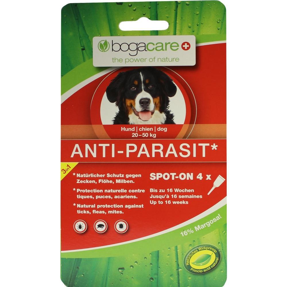 07757315, bogacare ANTI-PARASIT Spot on Hund gross, 4X2.5 ML