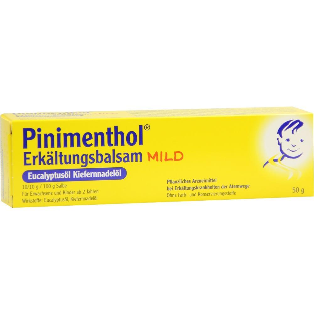 07779943, PINIMENTHOL Erkältungsbalsam mild, 50 G