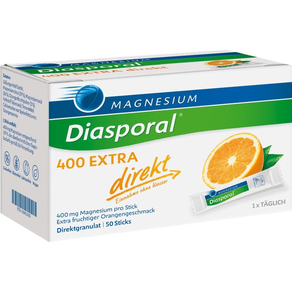 08402436, Magnesium-Diasporal 400 Extra direkt, 50 ST