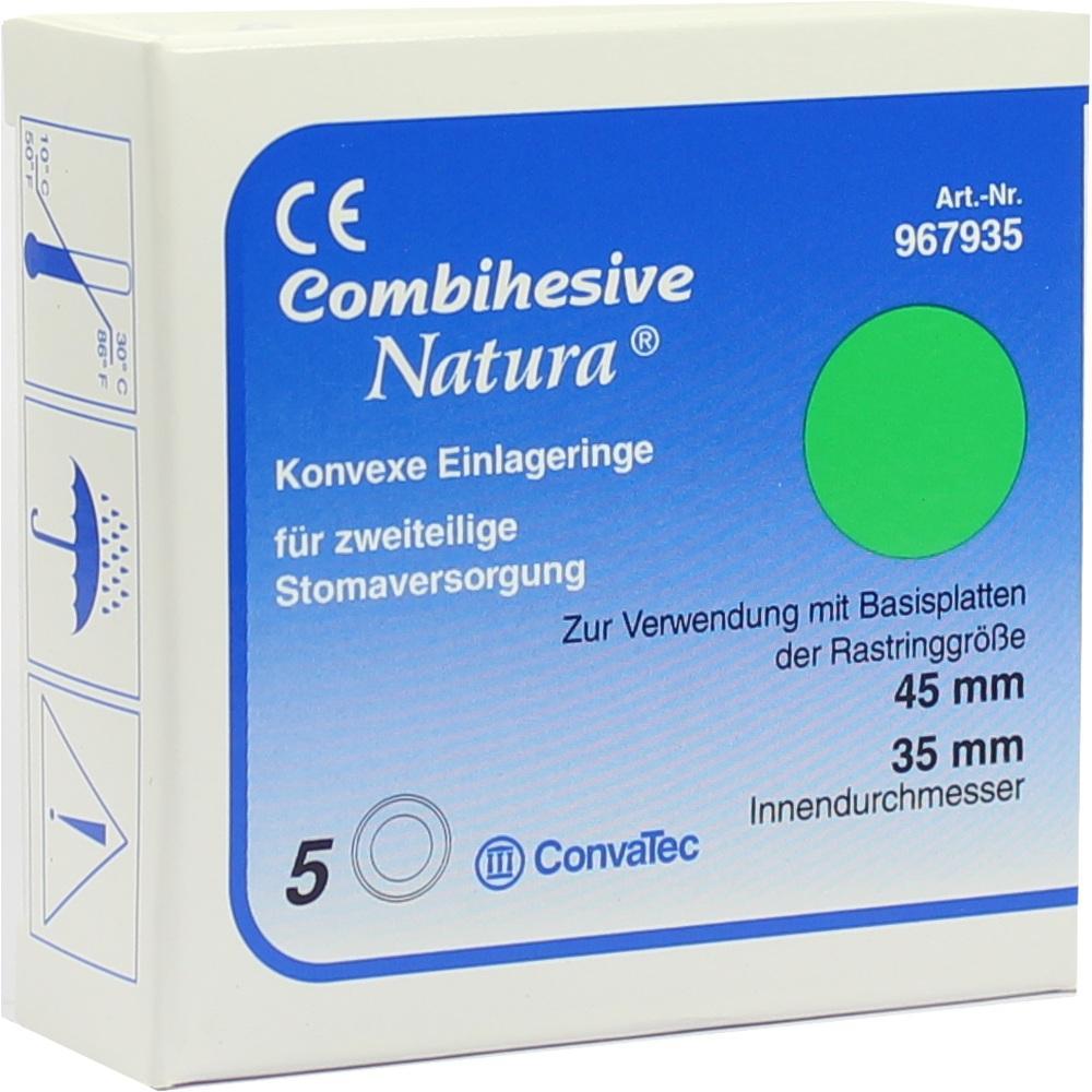COMBIHESIVE Natura Einlageringe konvex 45/35mm