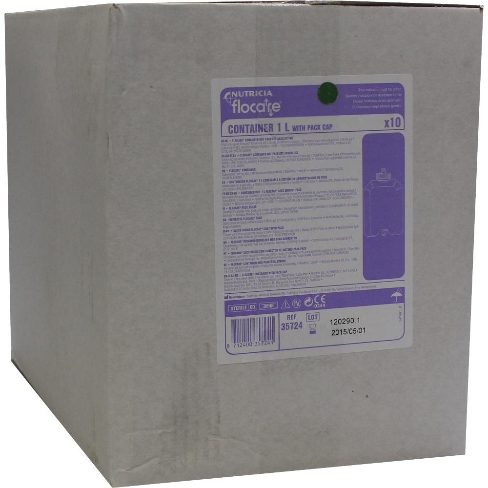 FLOCARE Container m.Pack-Set Anschluss