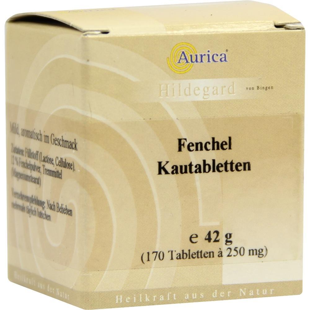 08509111, Fenchelkautabletten Aurica, 170 ST