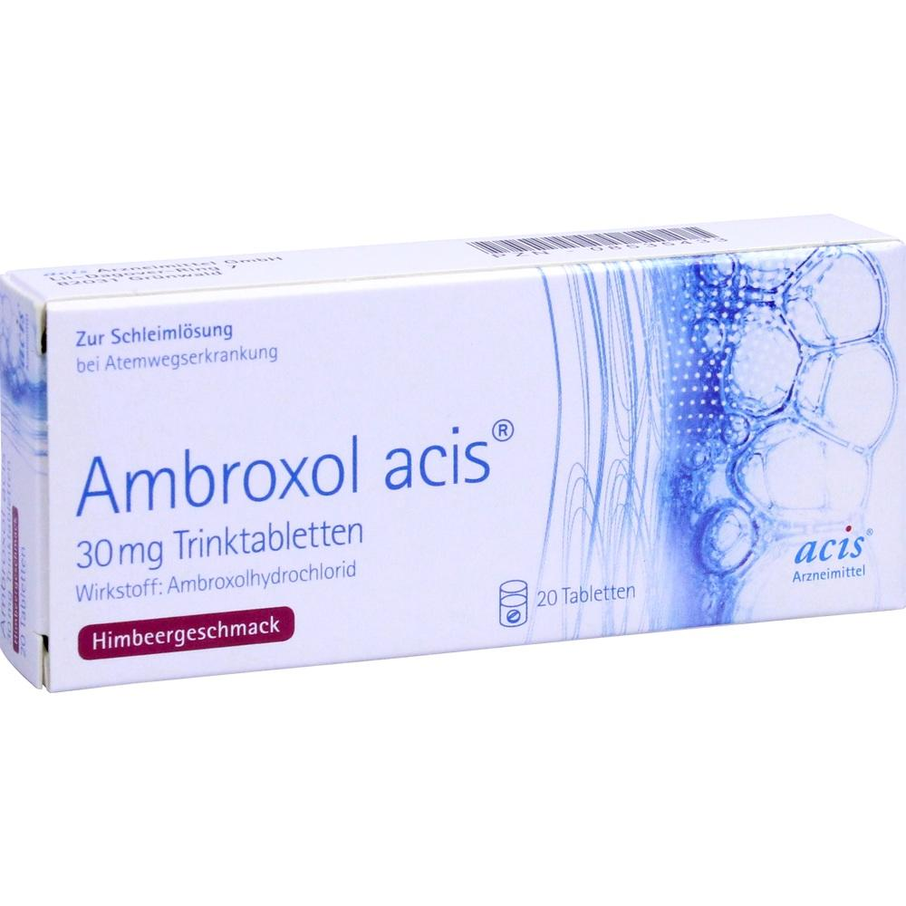 08535433, Ambroxol acis 30mg Trinktabletten, 20 ST