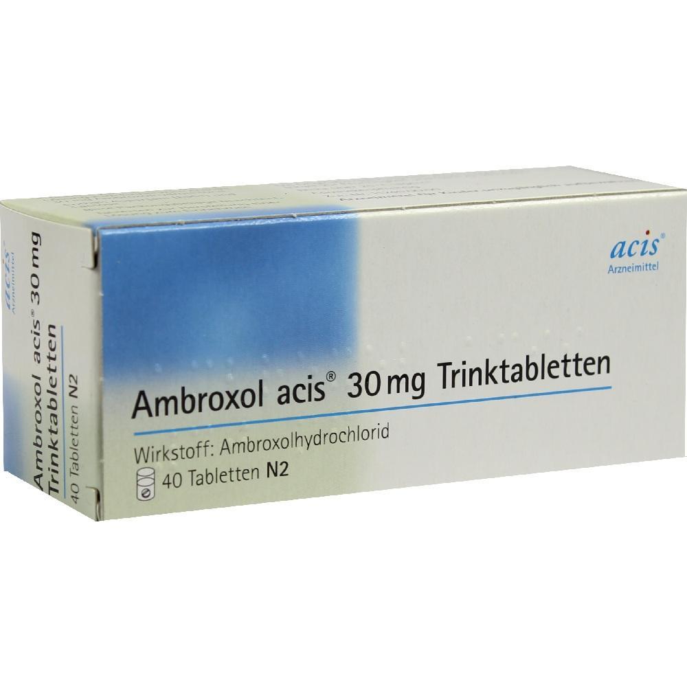 08535456, Ambroxol acis 30mg Trinktabletten, 40 ST