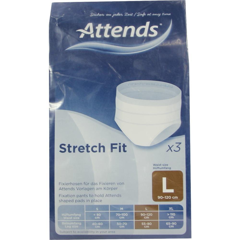 08538259, ATTENDS Ultra Care Stretchfit-Hose Large, 1X3 ST