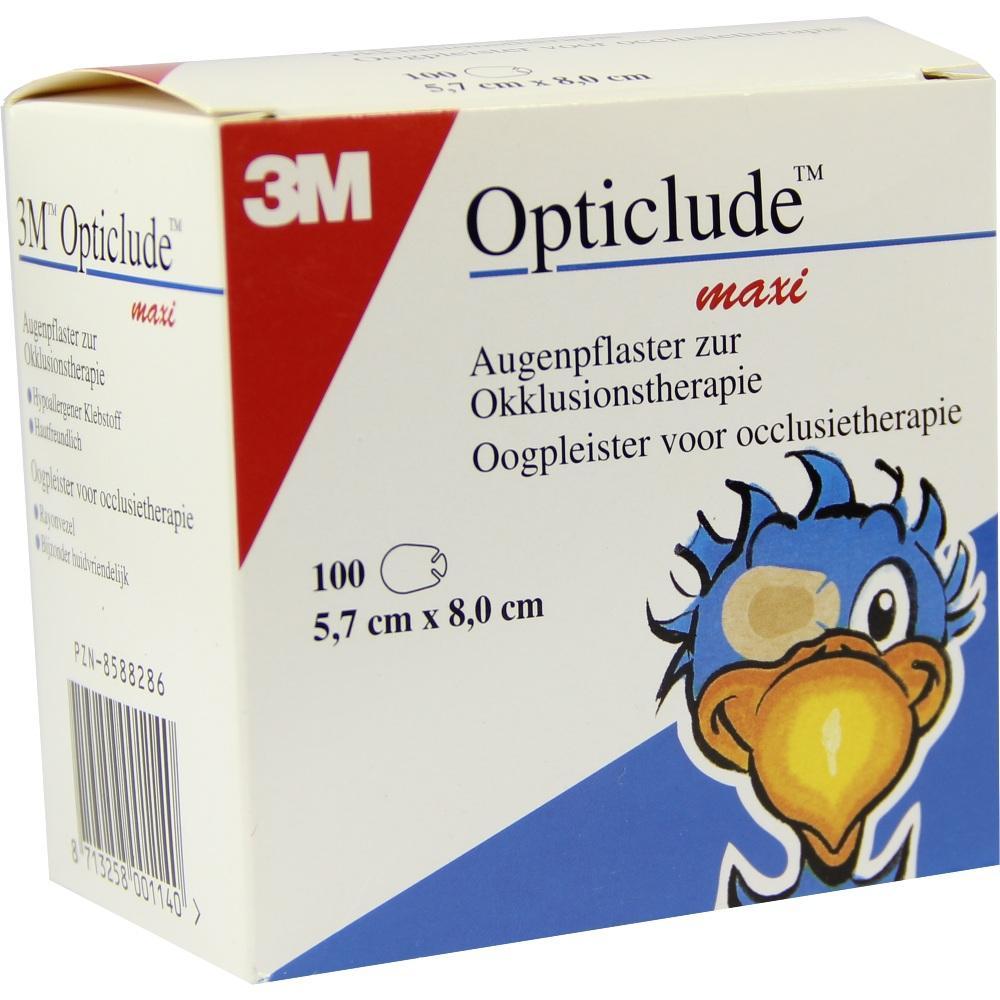 08588286, Opticlude 3M MAXI 1539/100, 100 ST