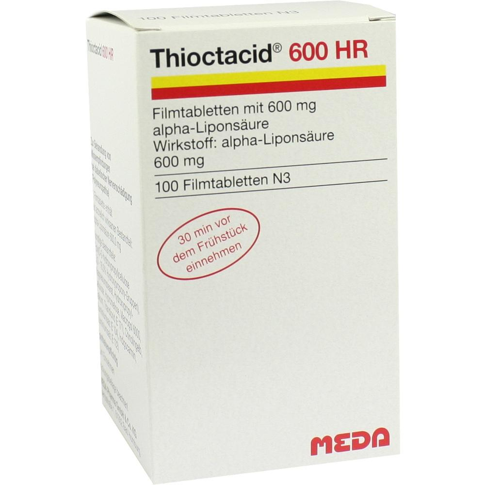08591294, Thioctacid 600 HR, 100 ST