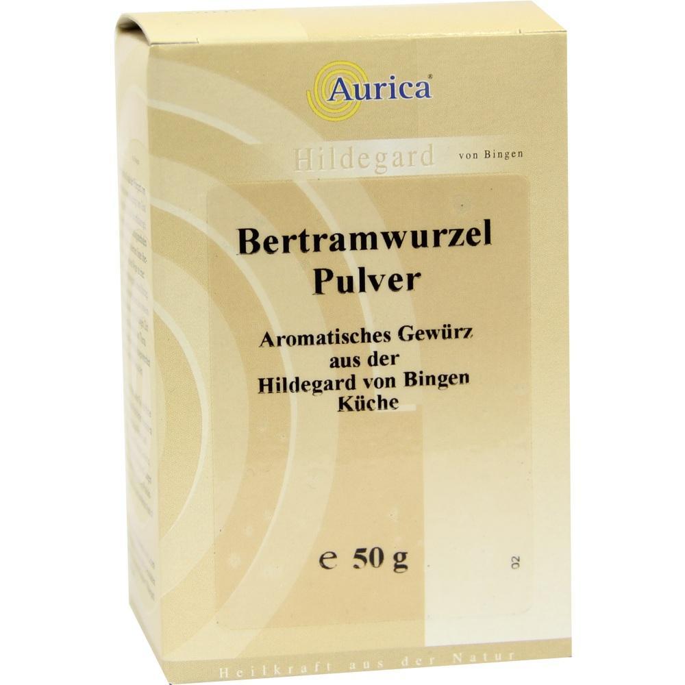 08635459, Bertramwurzelpulver Aurica, 50 G