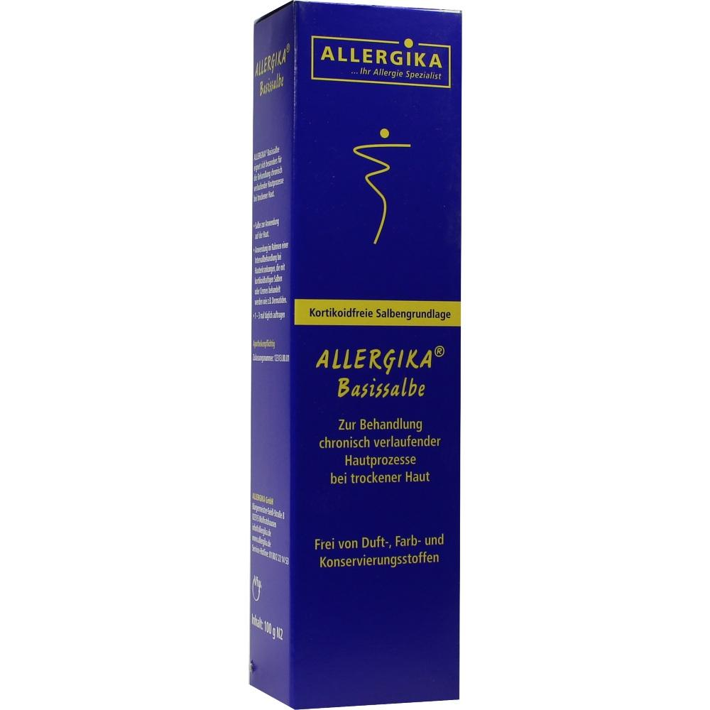 08700702, Allergika Basissalbe, 100 G