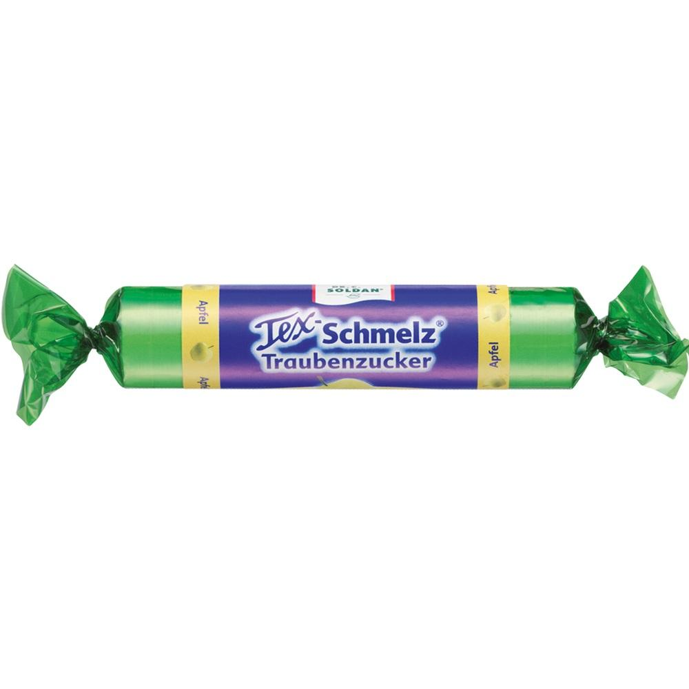 08763370, SOLDAN Tex Schmelz Traubenzucker Apfel, 33 G