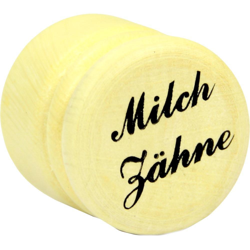 08768172, MIlchzahndose Holz 2.5cm, 1 ST