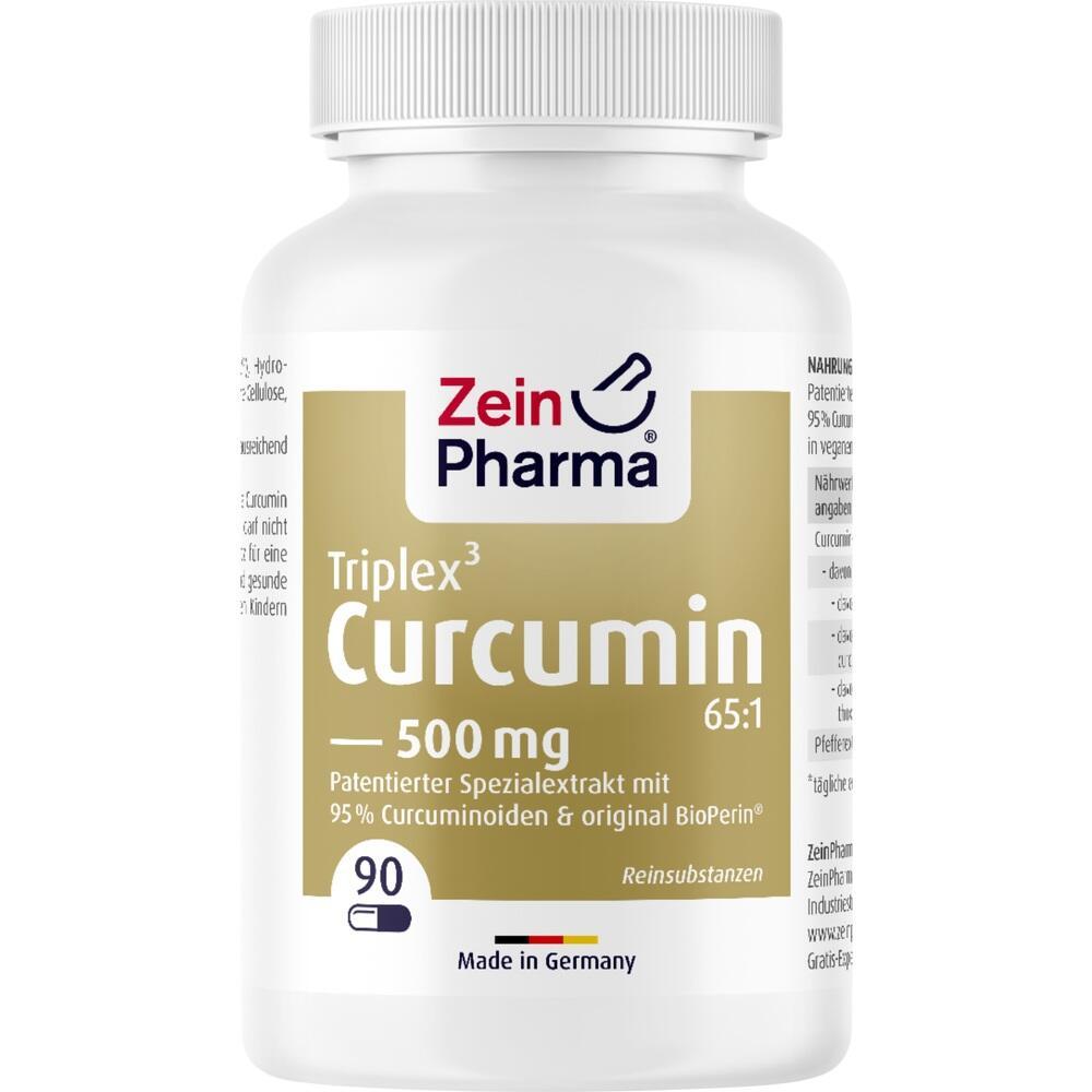 08768953, Curcumin Triplex3 500mg pro Kap.95% Curcu.+Bioperi, 90 ST