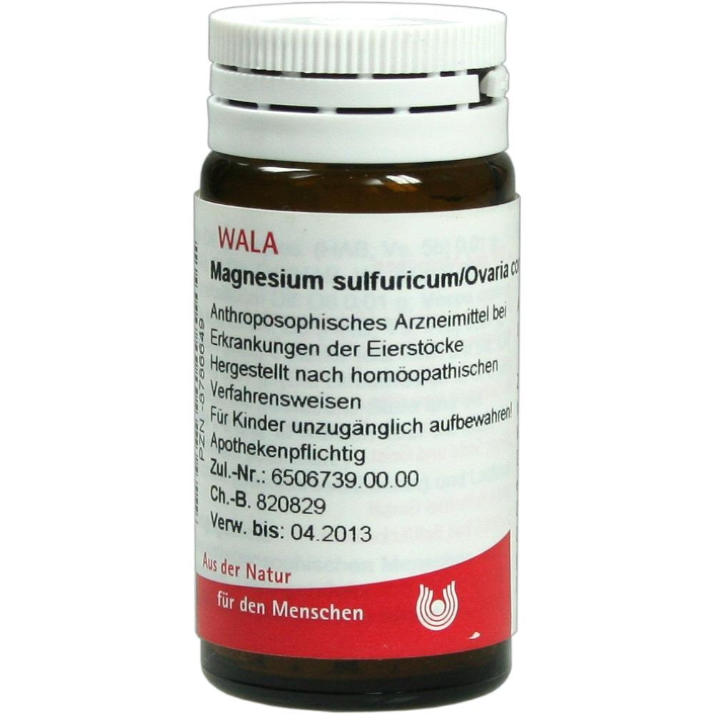 MAGNESIUM SULFURICUM/Ovaria comp.Globuli