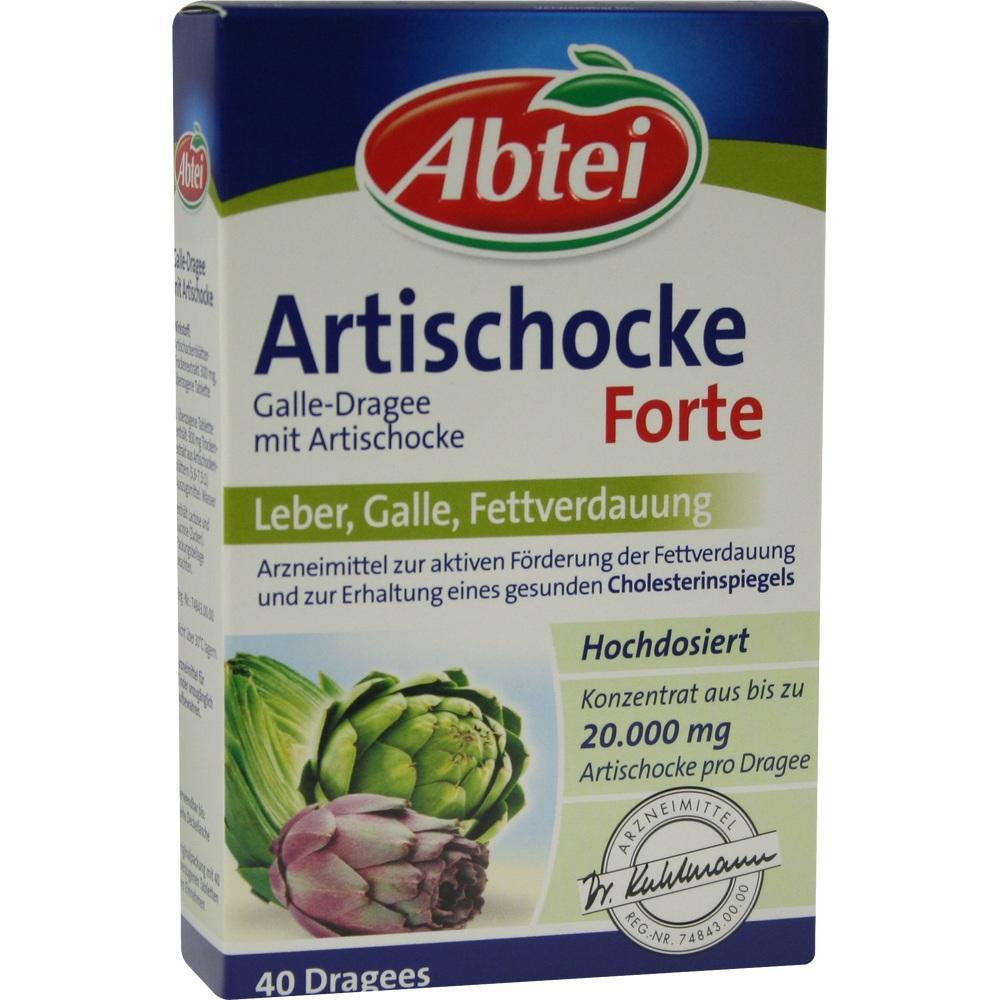 08789719, Abtei Galle-Dragees mit Artischocke, 40 ST