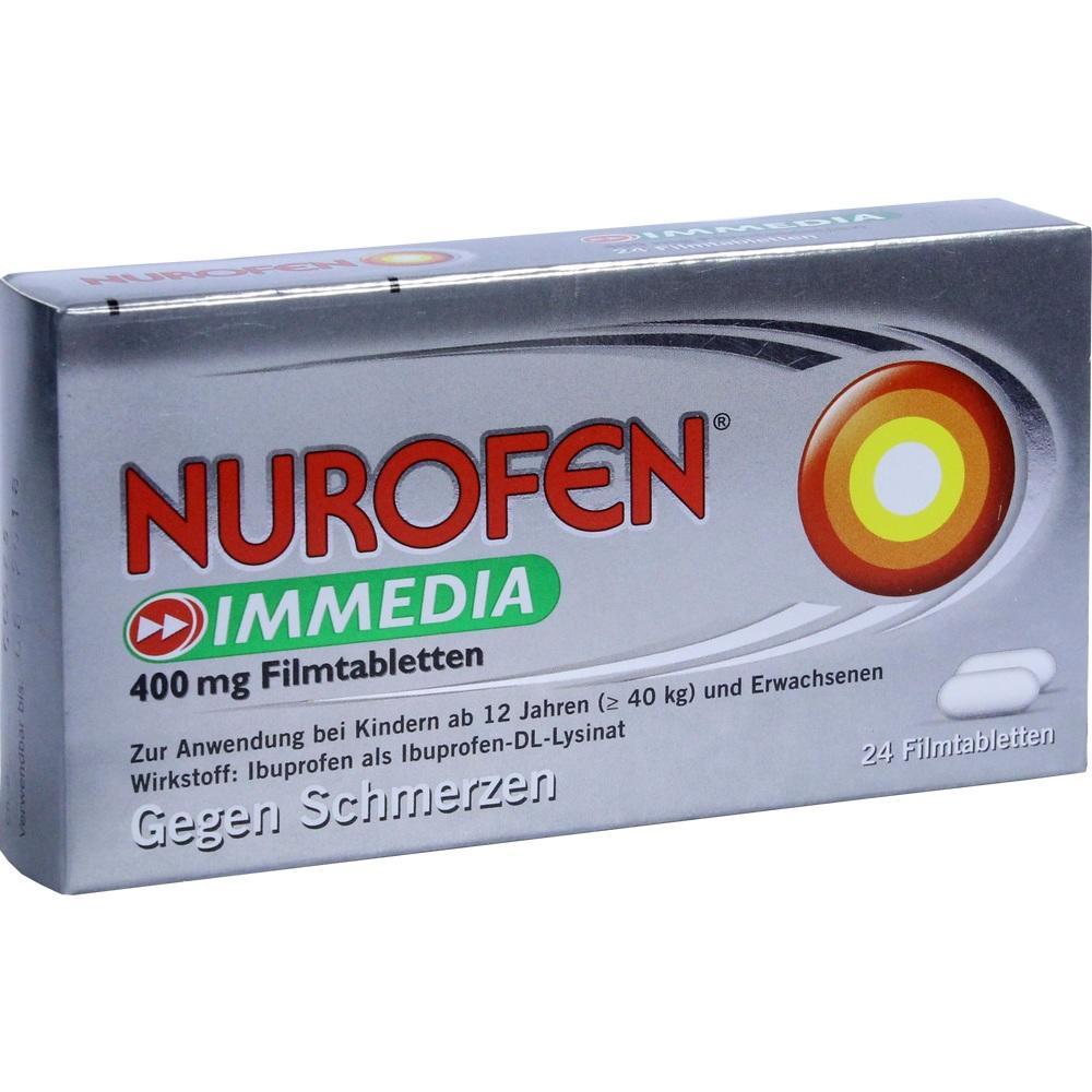 08794459, Nurofen Immedia 400 mg Filmtabletten, 24 ST