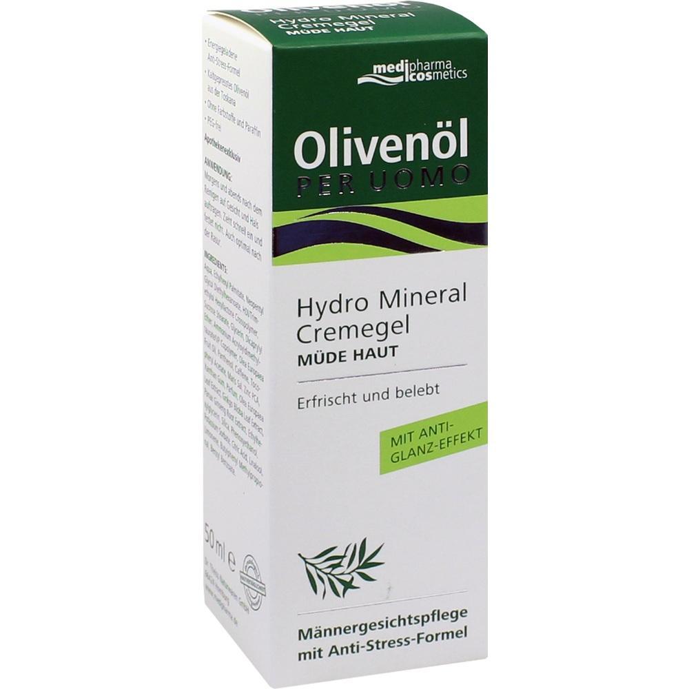 08815061, Olivenöl Per Uomo Hydro Mineral Cremegel, 50 ML