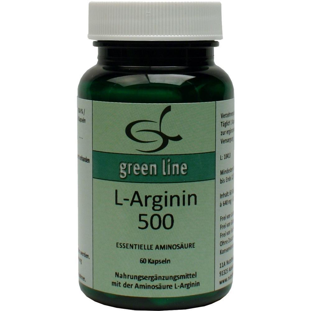 08824918, L-Arginin 500, 60 ST
