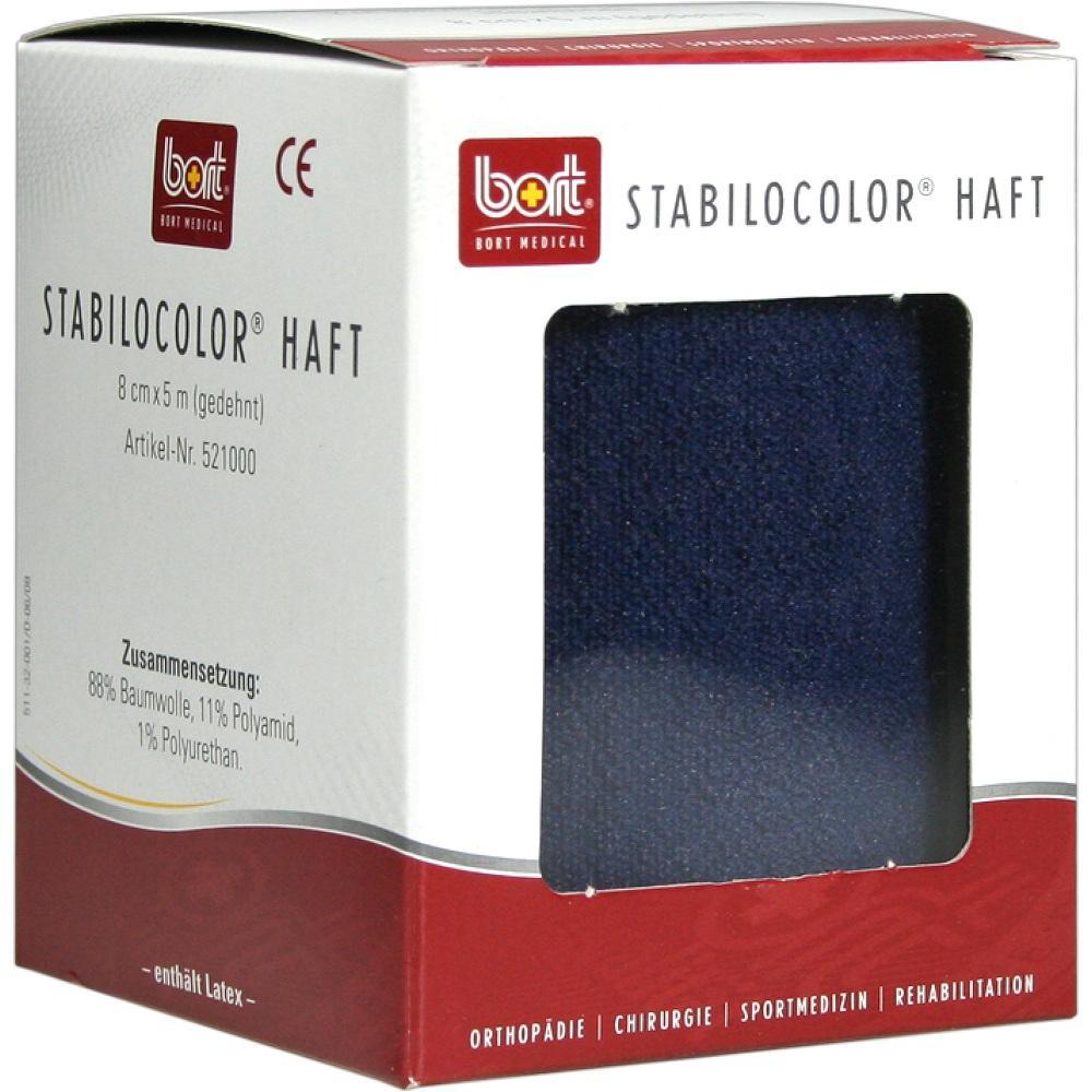 BORT StabiloColor haft Binde 8cm blau