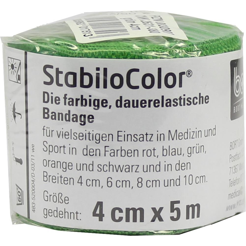 BORT StabiloColor Binde 4cm grün