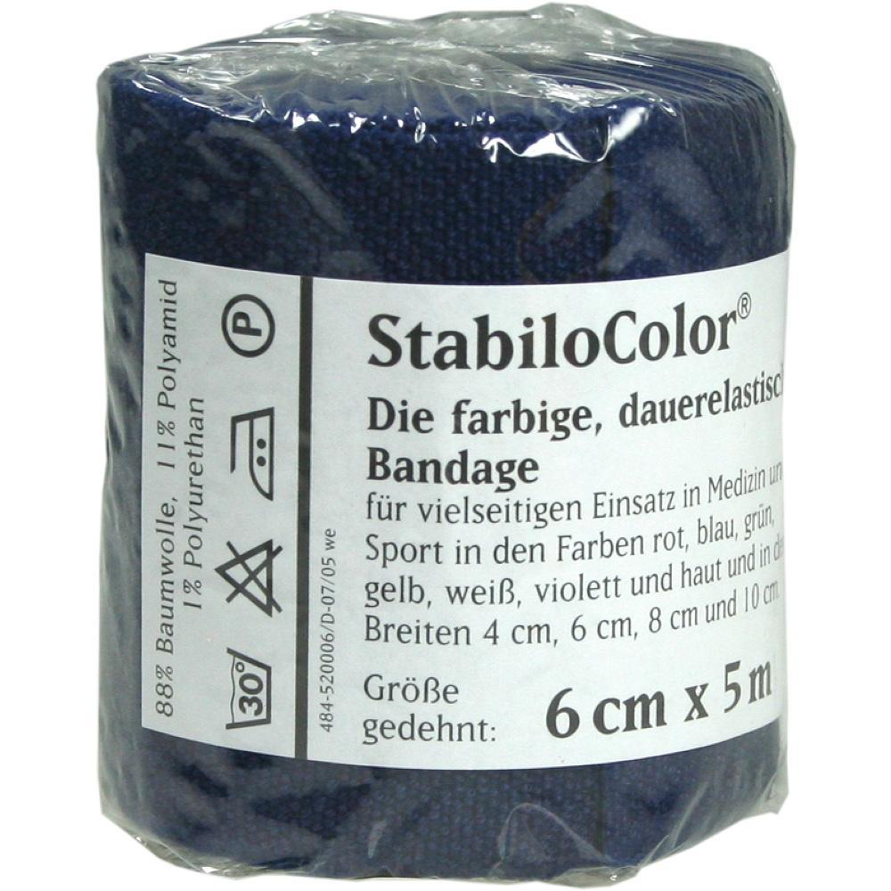 BORT StabiloColor Binde 6cm blau