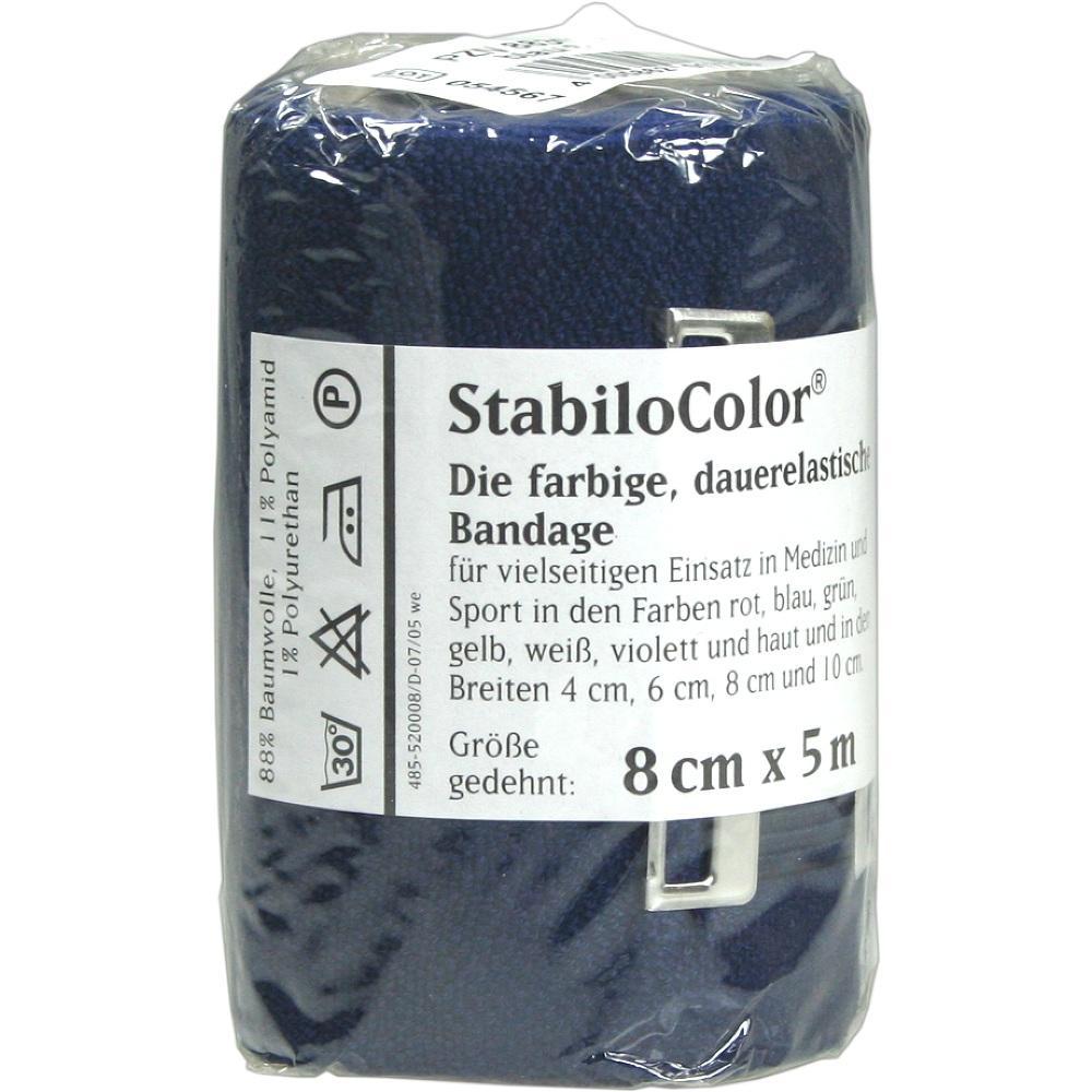 BORT StabiloColor Binde 8cm blau